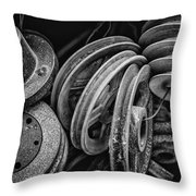 Pulled In Every Direction Throw Pillow