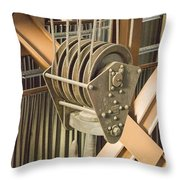 Pulley Throw Pillow
