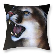 Puma II Throw Pillow