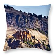 Pumice Castle Throw Pillow
