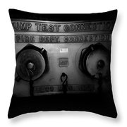 Pump Test Two Throw Pillow