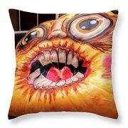 Pumpkin Contest 1 Throw Pillow