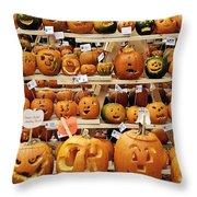 Pumpkin Festival. Throw Pillow