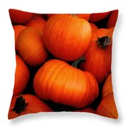 Pumpkin Harvest Throw Pillow