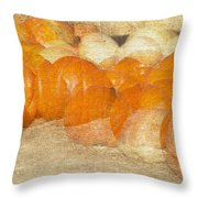 Pumpkin Overlay Throw Pillow