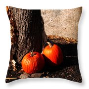 Pumpkin Time Throw Pillow