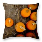 Pumpkin Tops Throw Pillow