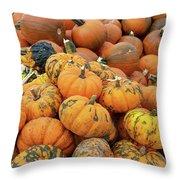 Pumpkins For Sale Throw Pillow
