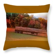 Pumpkins Mellow Throw Pillow