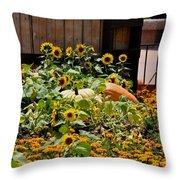 Pumplin Patch Throw Pillow