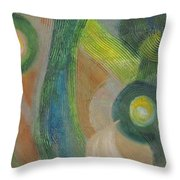 Punctuated  Throw Pillow