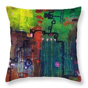 Punctuated Silences Throw Pillow