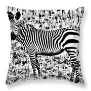 Punda Milia 2 Throw Pillow