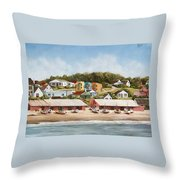 Punta Del Diablo 2 Throw Pillow