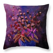 Puple Bunch 450130 Throw Pillow