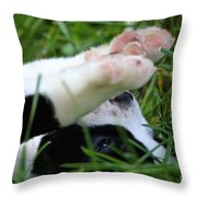 Puppy Prayers Throw Pillow