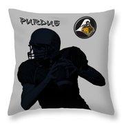 Purdue Football Throw Pillow