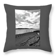 Purdy Beach Throw Pillow