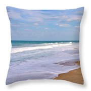 Pure Beach Throw Pillow