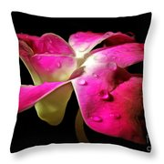Pure Elegance Throw Pillow