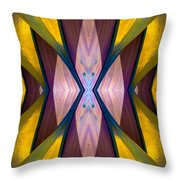 Pure Gold Lincoln Park Wood Pavilion N89 V1 Throw Pillow
