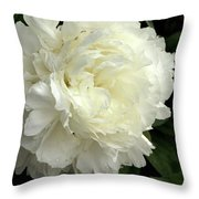 Pureness Throw Pillow by Valeria Donaldson