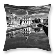 Purfleet Quay King's Lynn Throw Pillow