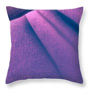 Purple And Bold Throw Pillow
