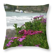 Purple And Pretty Throw Pillow