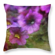 Purple And Yellow Morning 9121 Idp_2 Throw Pillow