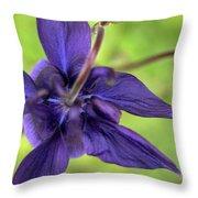 Purple Beaut Throw Pillow