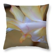 Purple Bell Throw Pillow