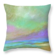 Purple Dawn Throw Pillow