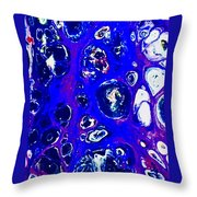 Purple Daze Throw Pillow