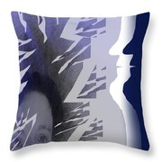 Purple Dream Throw Pillow