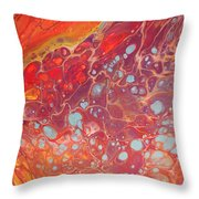 Purple Fire - 11 X 14 Canvas,$250 Throw Pillow