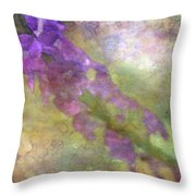 Purple Flowers 8621 Idp_2 Throw Pillow