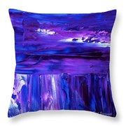 Purple Hue Throw Pillow