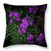 Purple Kiss Throw Pillow