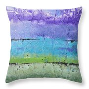 Purple Mountain's Majesty Throw Pillow
