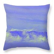 Purple Mountain's Majesty... Throw Pillow