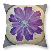 Purple Paradise Throw Pillow