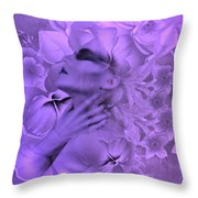 Purple Passion Throw Pillow