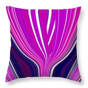 Purple Perfection Throw Pillow