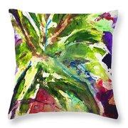 Purple Pineapple Throw Pillow