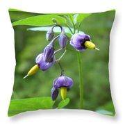 Purple Power Throw Pillow