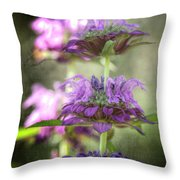 Purple Promises Throw Pillow