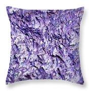 Purple, Purple, And More Purple Throw Pillow