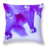 Purple Rain Purple Rain Throw Pillow