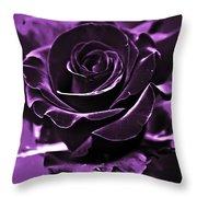 Purple Seduction Throw Pillow